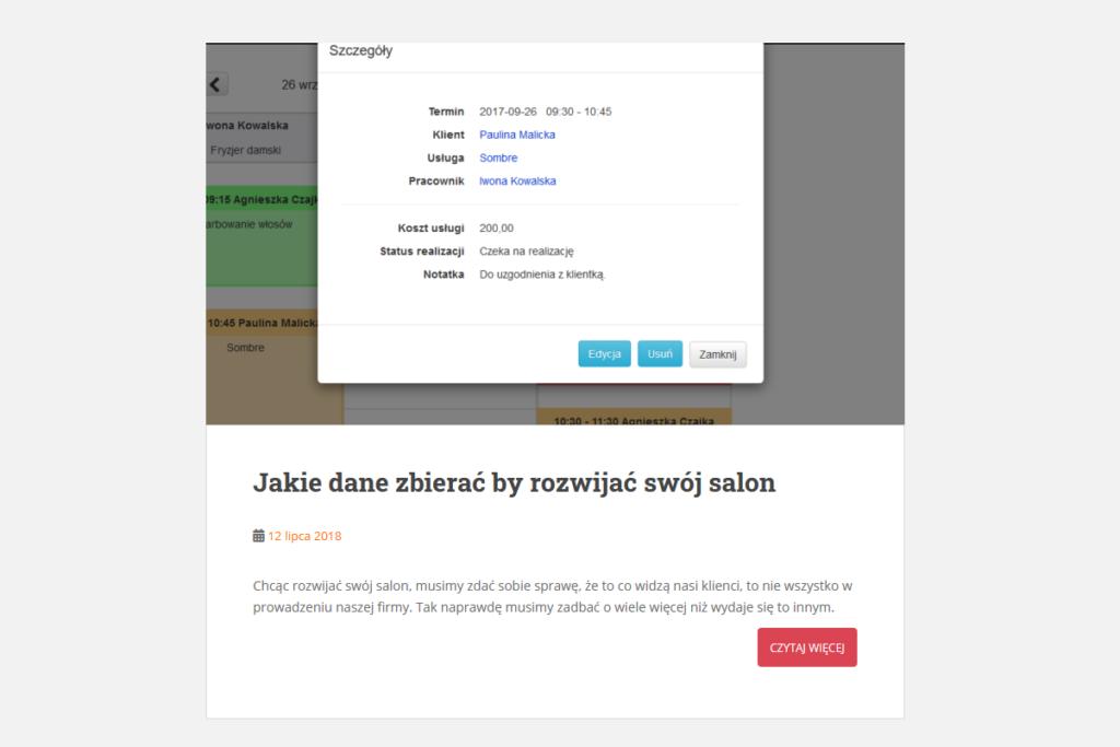 OneIN blog - Jakie dane zbierać by rozwijać swój salon